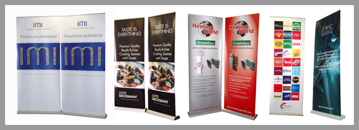 Roller banner stands london